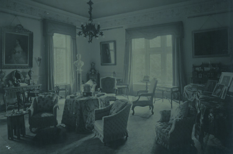 The Music Room (now part of Function room) as it was in Patti's day circa 1900