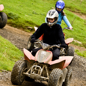 Group Accommodation - Quad Biking