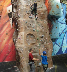 Brecon Beacons Hotels - Rock Wall Climbing