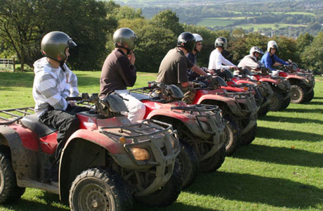 Brecon Beacons Hotels - Quad racing