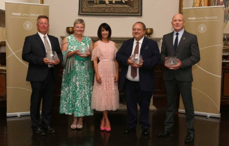 Prime Cymru Awards 2017 at Craig y Nos Castle