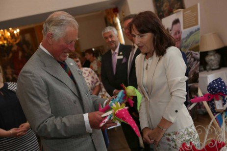 Prime Cymru Awards 2017 with Prince Charles at Craig y Nos Castle