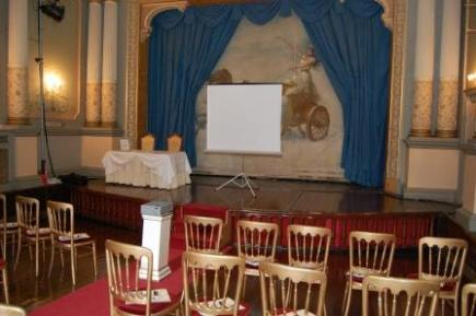 Conference Venue for presentations and product launches