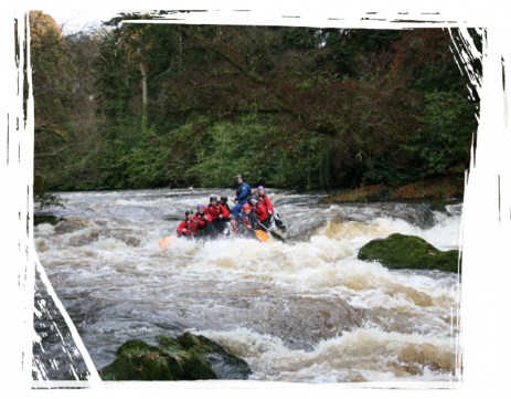 Brecon Beacons Hotels - White water rafting