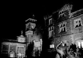 Brecon Beacons Hotel Craig y Nos Castle at night