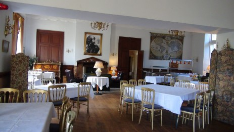 Craig y Nos Castle main function room