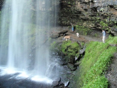 Brecon Beacons National Park Henrhyd Waterfalls Walk