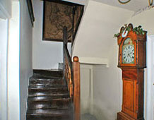 Brecon Beacons Holidays Self Catering cottage farmhouse staircase