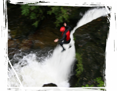 Brecon Beacons Hotels - Waterfall diving