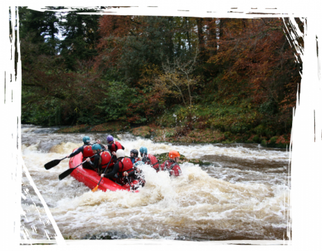 Brecon Beacons Hotels - Whitewater rafting